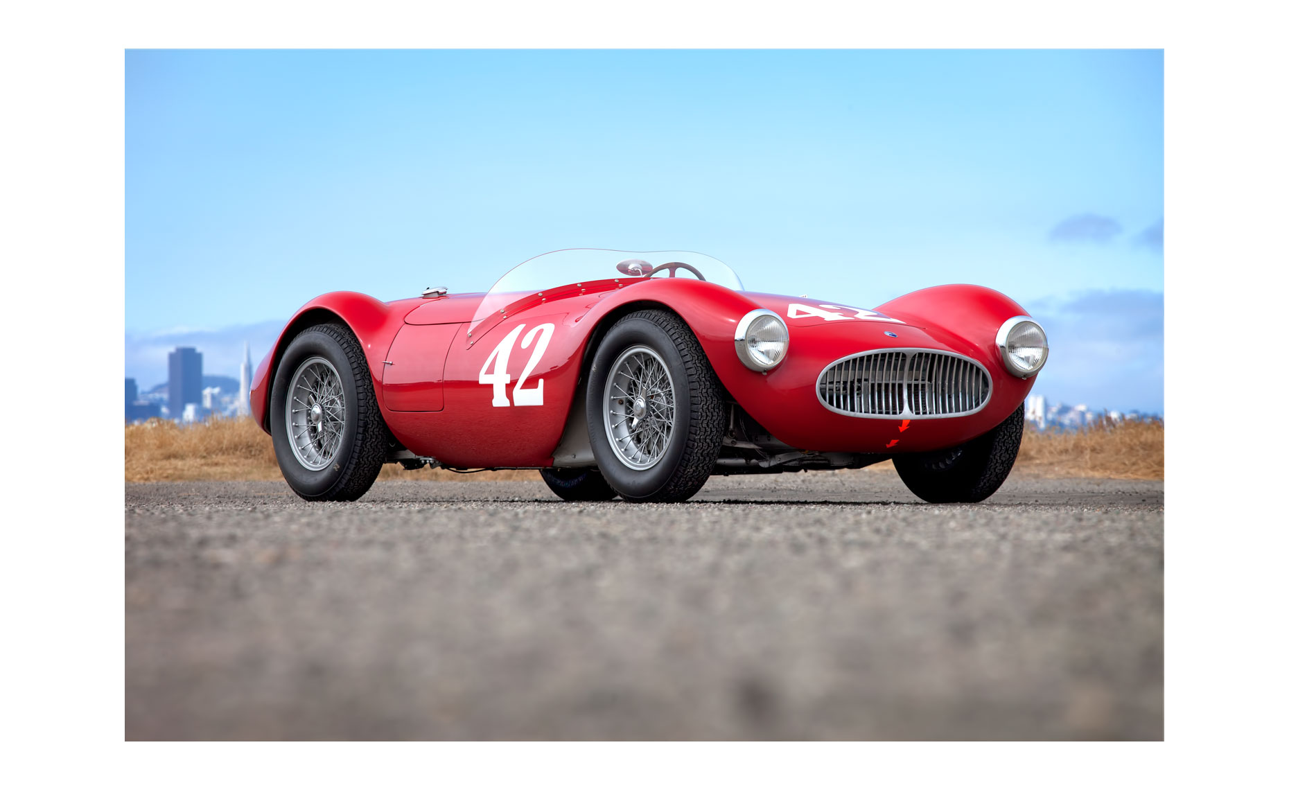 Maserati A6GCS/53 | Neil Fraser Photography | Neil Fraser Photographer