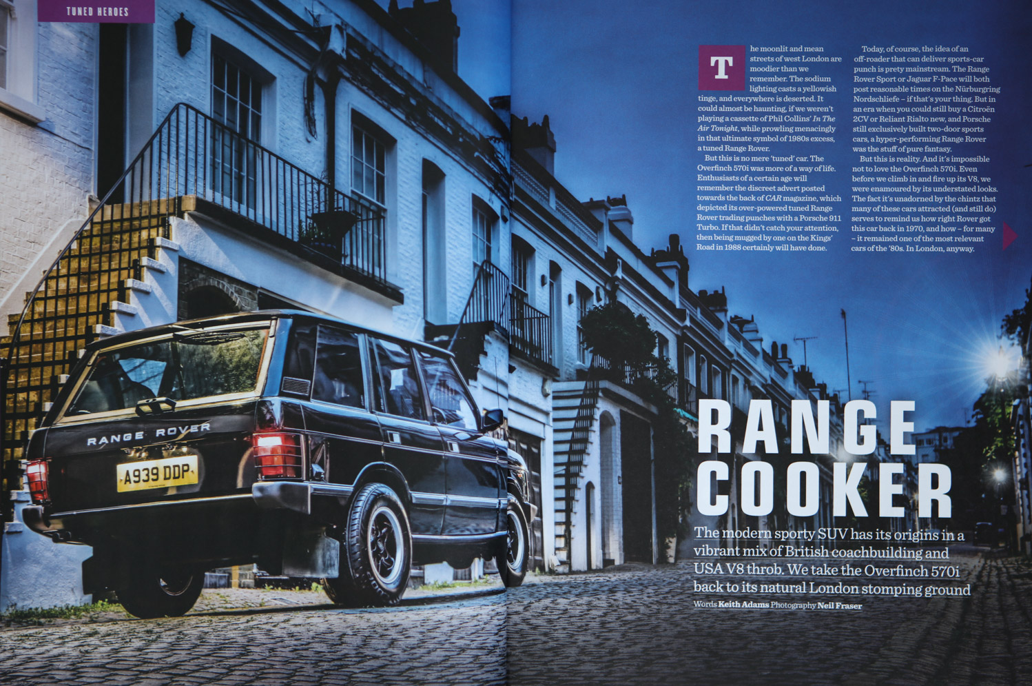 Range Rover | Neil Fraser Photography | Neil Fraser Photographer