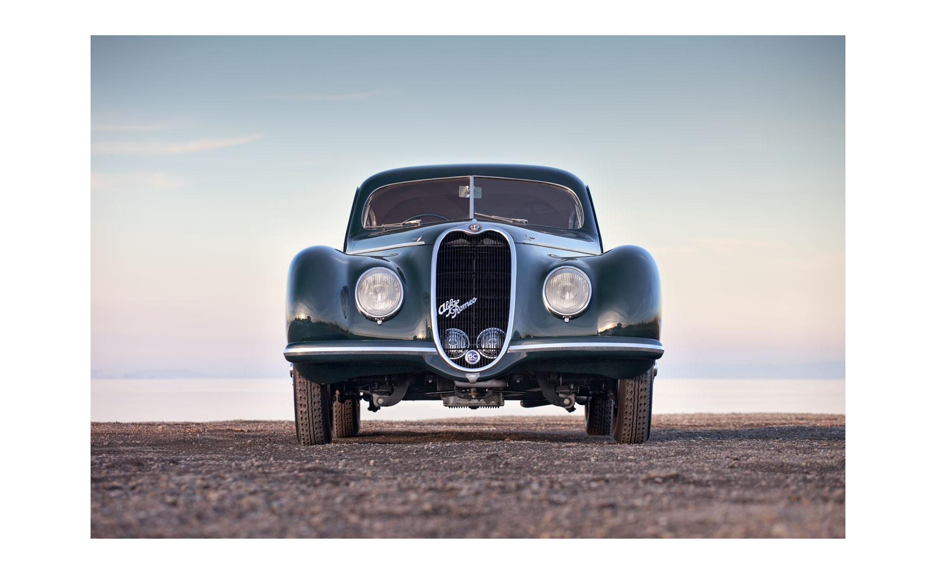 Alfa Romeo 6C 2500 Sport Superleggera Berlinetta  | Neil Fraser Photography | Neil Fraser Photographer