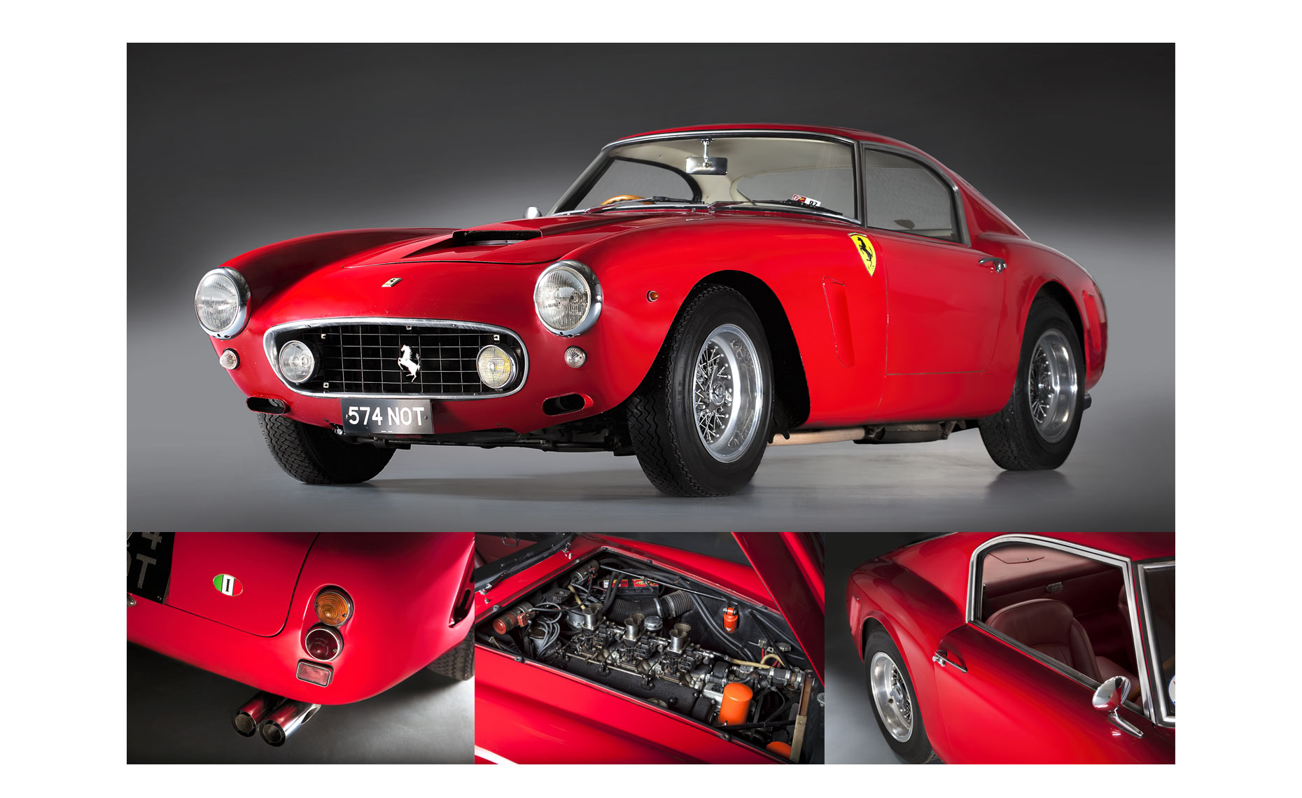 Ferrari 250 GT SWB | Neil Fraser Photography | Neil Fraser Photographer