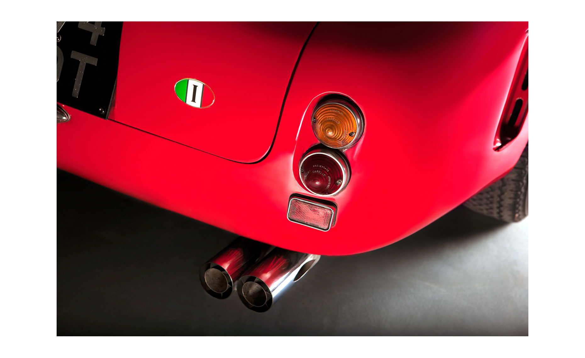 Ferrari 250 GT SWB Detail | NFP Car Photo