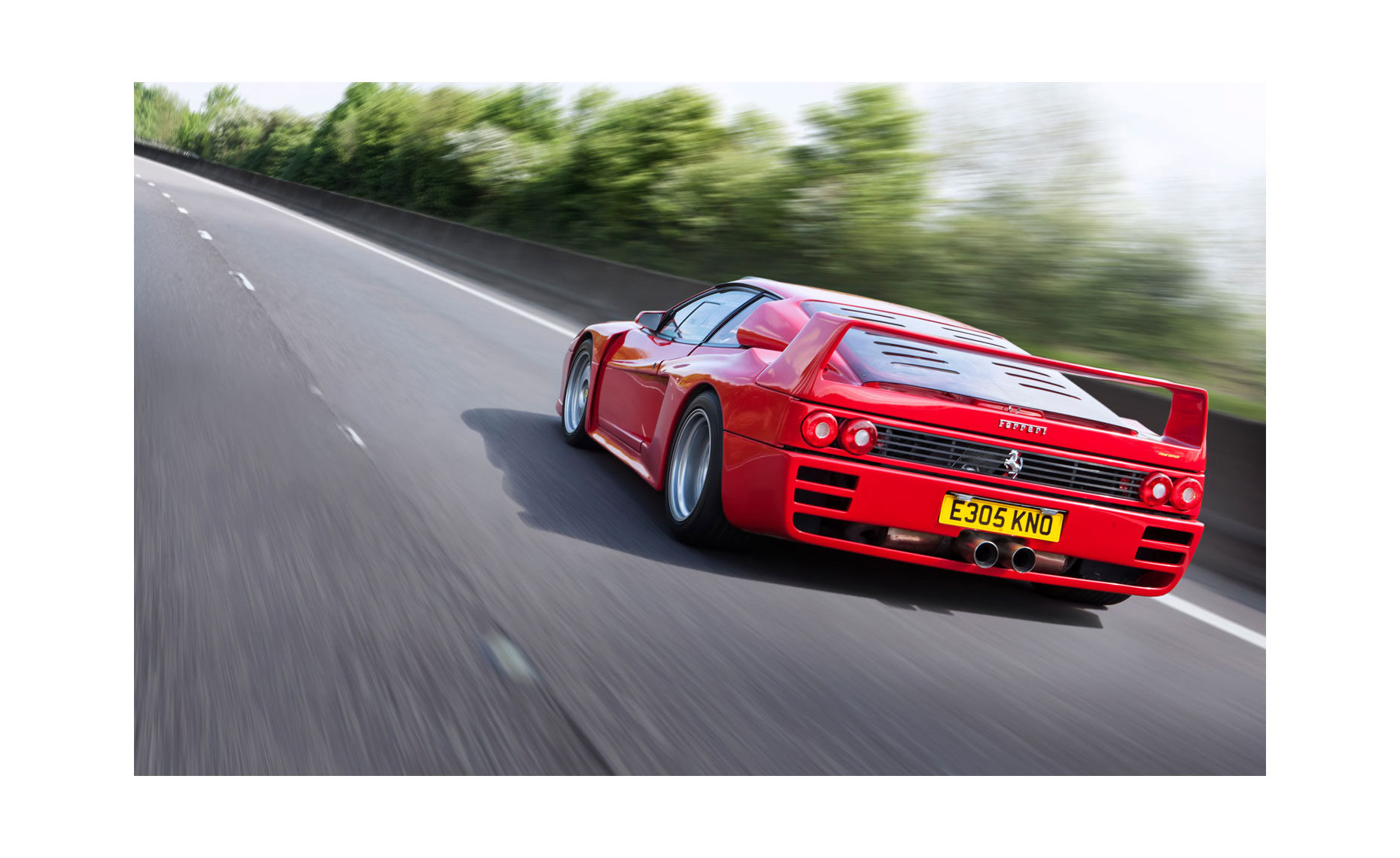 Ferrari Testarossa Koenig Rear | Neil Fraser Photography | Neil Fraser Photographer