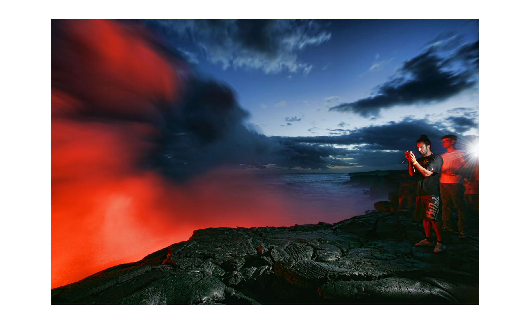 Hawaii Lava Flow | Neil Fraser Photography | Neil Fraser Photographer