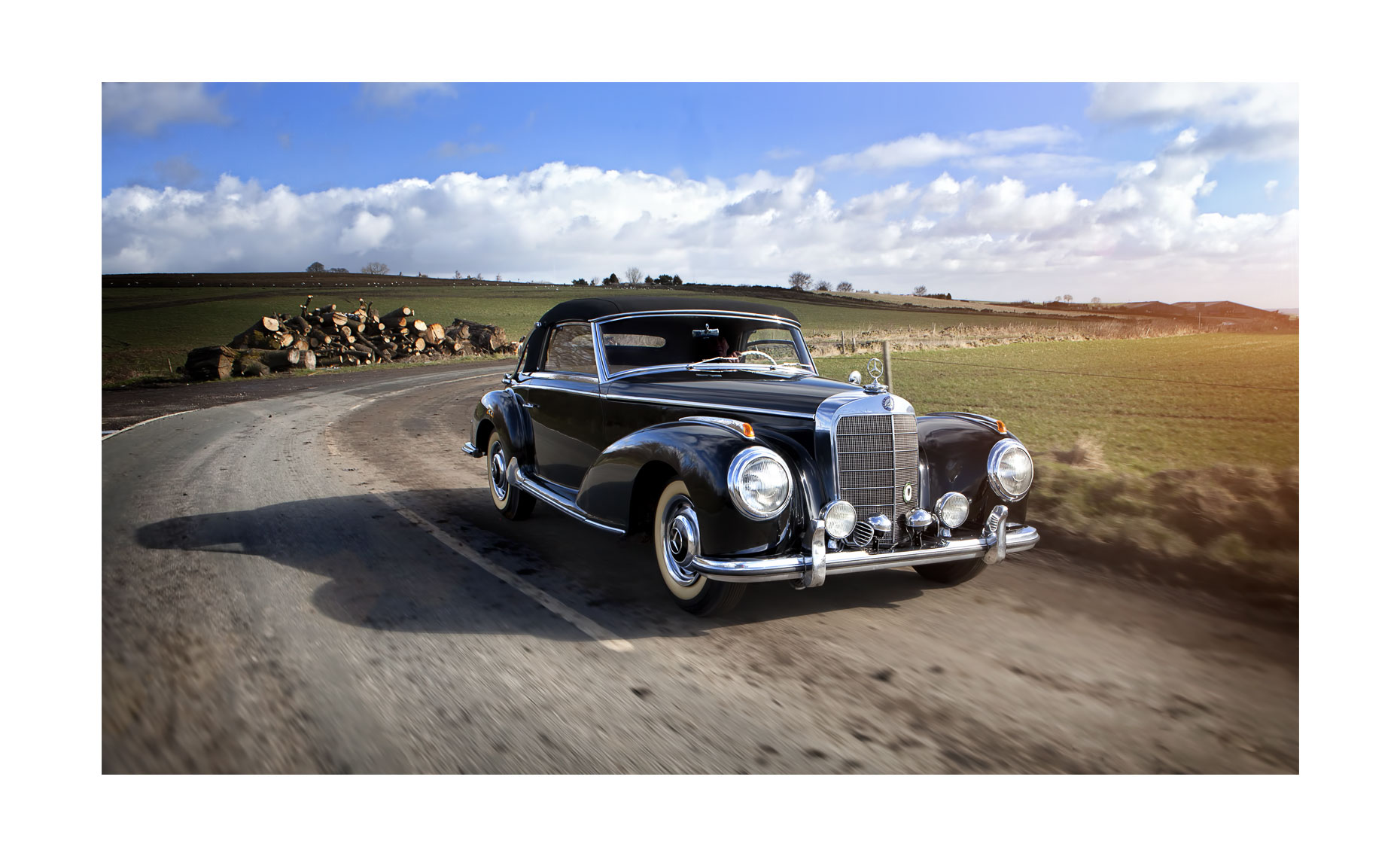Mercedes Benz 300S | Neil Fraser Photography | Neil Fraser Photographer