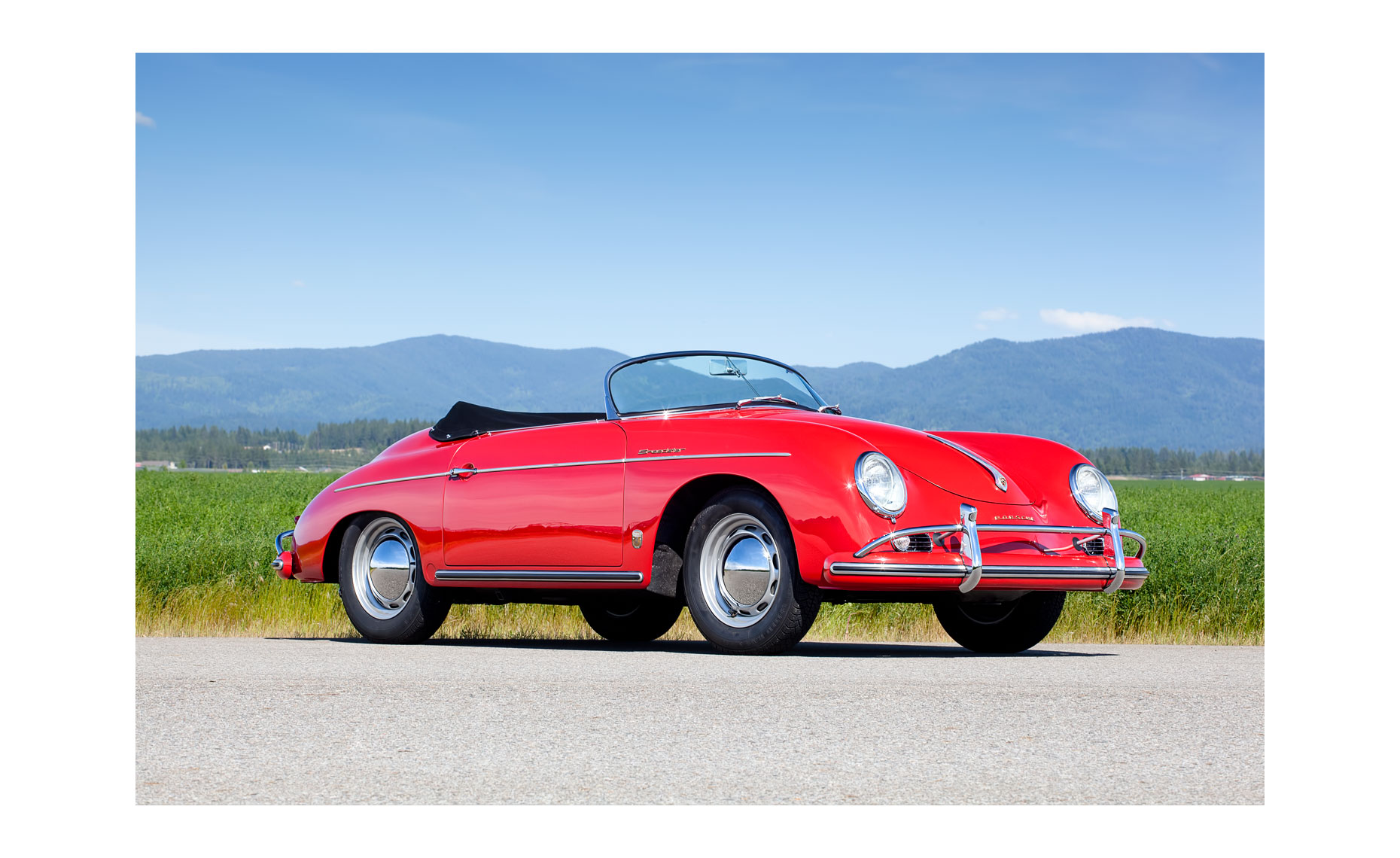 Porsche 356 Speedster 1600 | Neil Fraser Photography | Neil Fraser Photographer