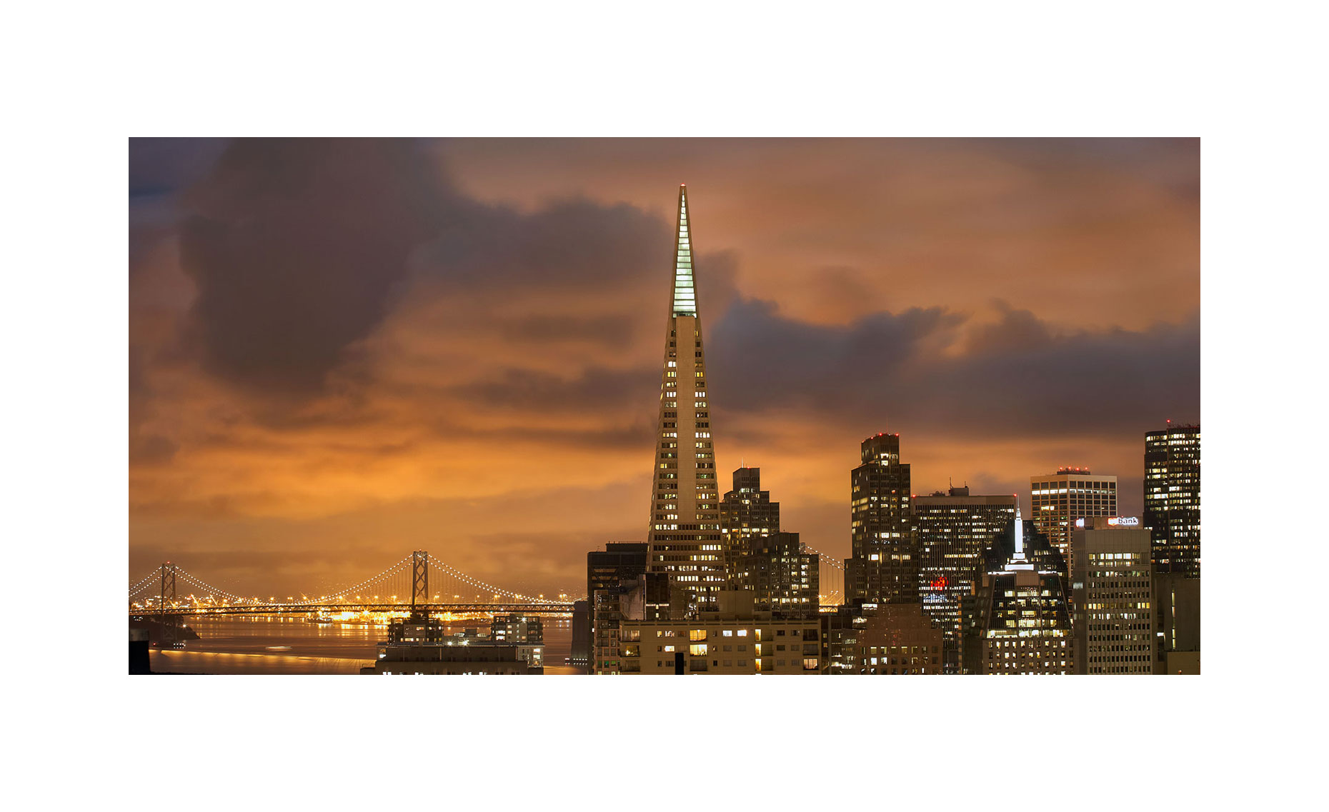 San Francisco At Night | Neil Fraser Photography | Neil Fraser Photographer