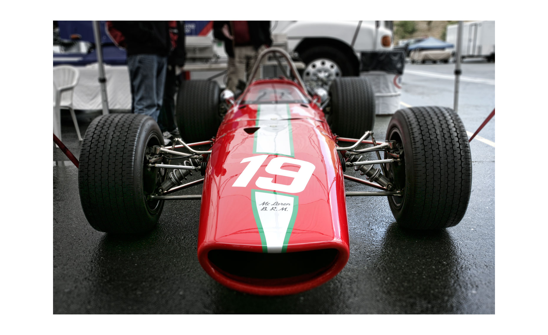 McLaren M5A BRM  | NFP Car Photo